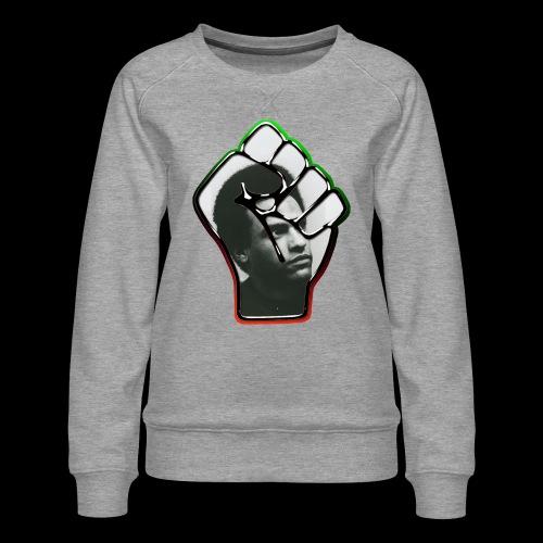 Huey Newton RBG Fist - Women's Premium Sweatshirt