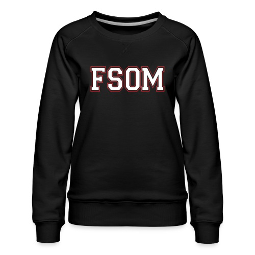Freedom School of Ministry Black Sweatshirt - Women's Premium Sweatshirt