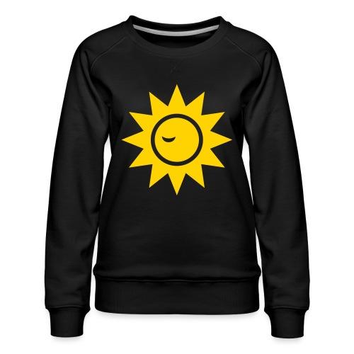 Winky Sun - Women's Premium Sweatshirt
