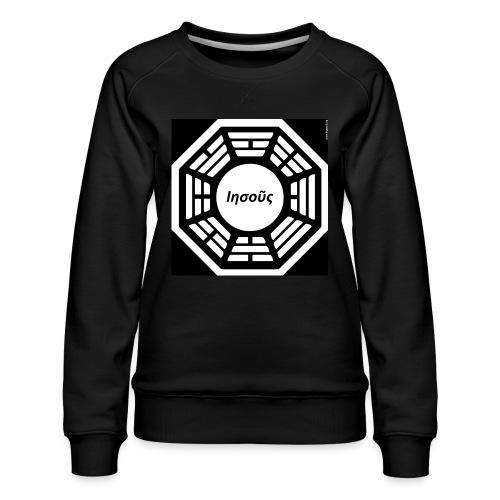 My Dharma is Jesus - Women's Premium Sweatshirt