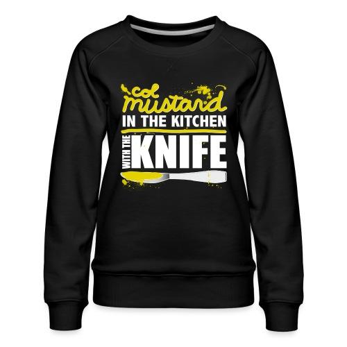 Colonel Mustard - Women's Premium Sweatshirt