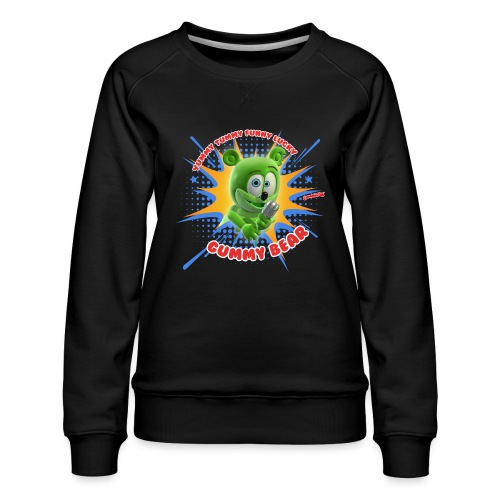 Funny Lucky Gummy Bear - Women's Premium Sweatshirt