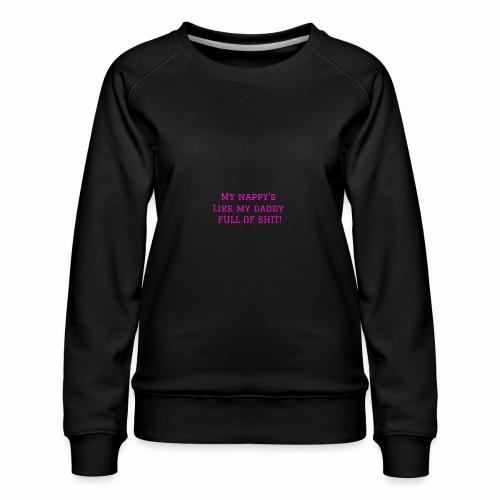 FULL OF SH*T - Women's Premium Sweatshirt