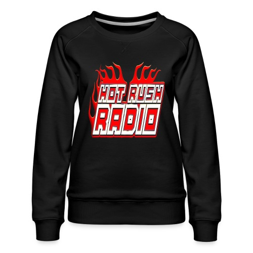worlds #1 radio station net work - Women's Premium Sweatshirt