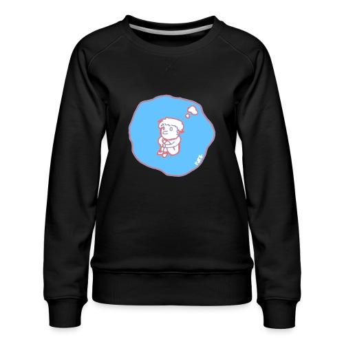 In my bubble - Women's Premium Sweatshirt