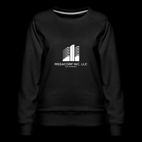 MEGACORP - GIANT EVUL CORPORATION - Women's Premium Sweatshirt
