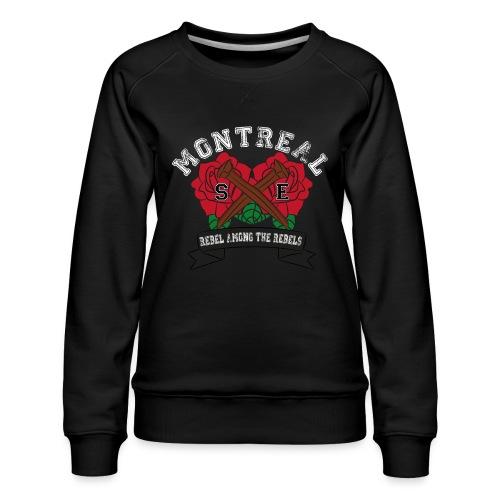 MONTREAL SXE - Women's Premium Slim Fit Sweatshirt