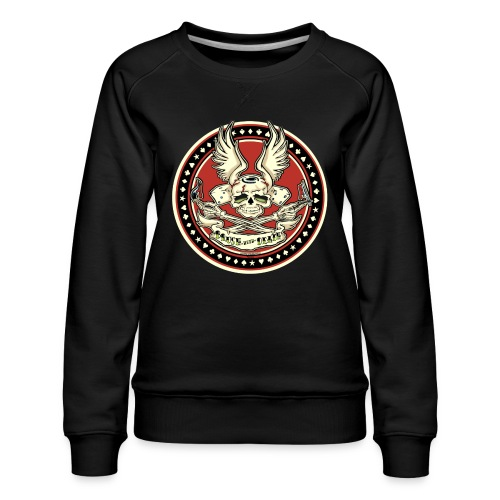 Brush With Death - Women's Premium Sweatshirt