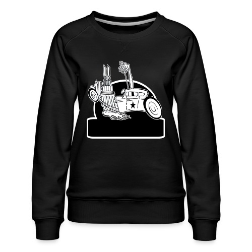Personalized Rat Rod - Women's Premium Sweatshirt