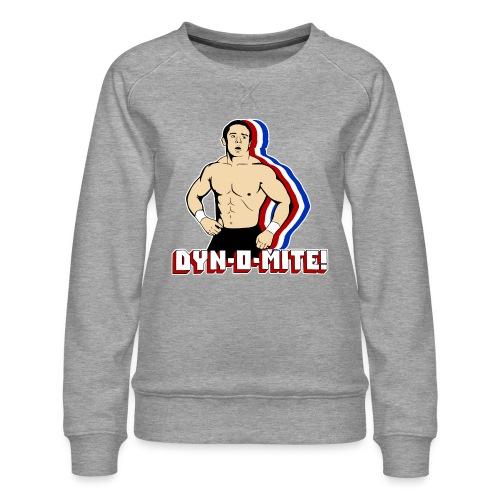 Dyn-O-Mite! - Women's Premium Sweatshirt