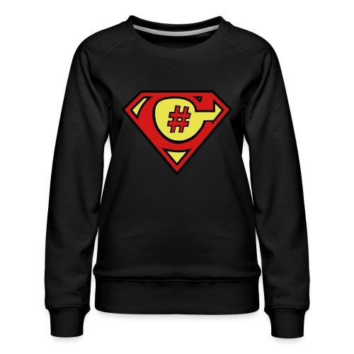 C# Hero Woman - Women's Premium Sweatshirt