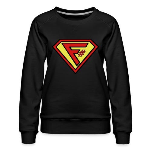 F# Hero Woman - Women's Premium Sweatshirt