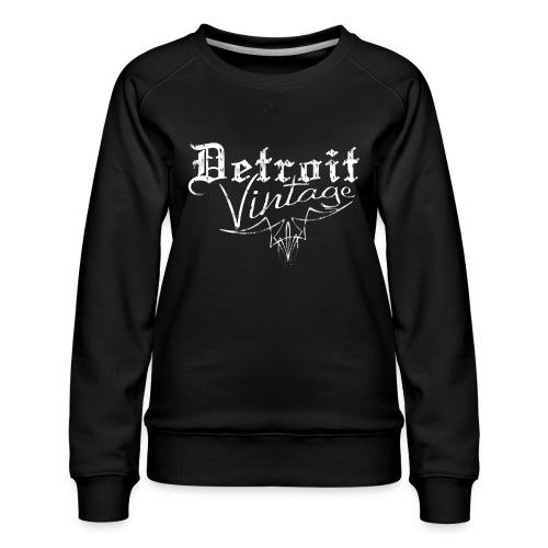 Detroit Vintage - Women's Premium Sweatshirt