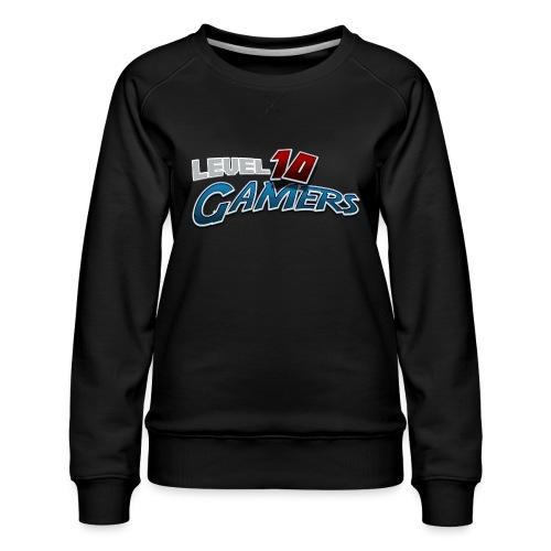 Level10Gamers Logo - Women's Premium Sweatshirt