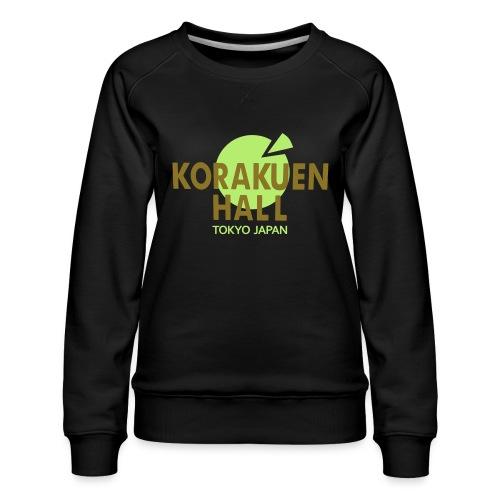 Korakuen Hall (tokyo japan) - Women's Premium Sweatshirt