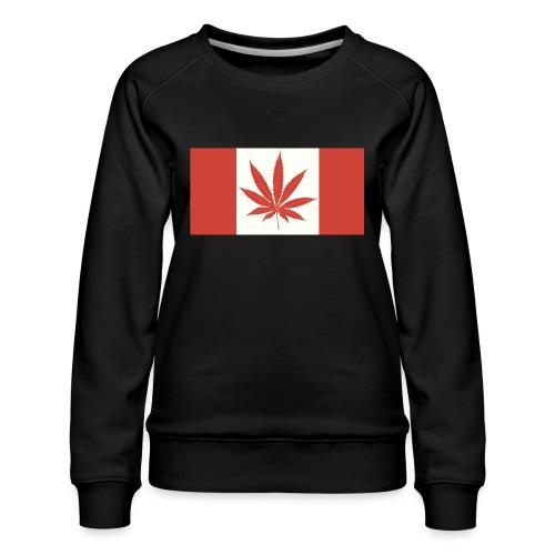 Canada 420 - Women's Premium Sweatshirt