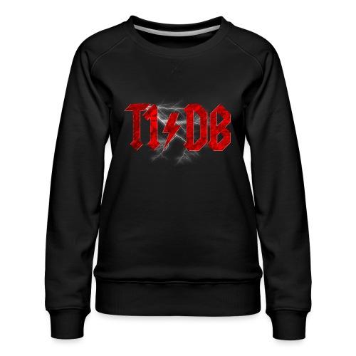 T1/DB AC/DC Style - Women's Premium Sweatshirt