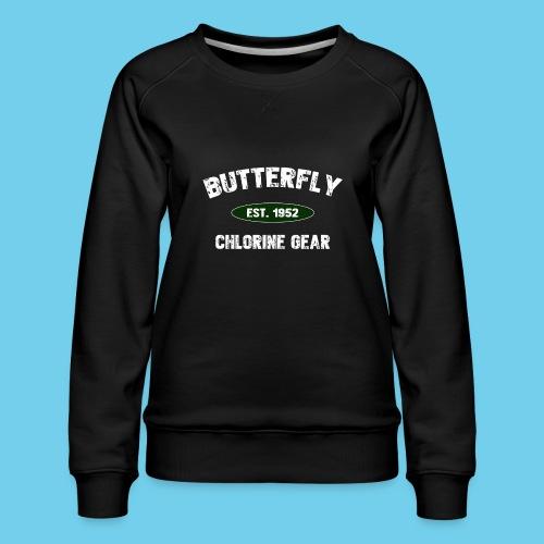 Butterfly est 1952-M - Women's Premium Sweatshirt