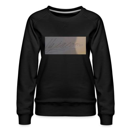 signature - Women's Premium Sweatshirt