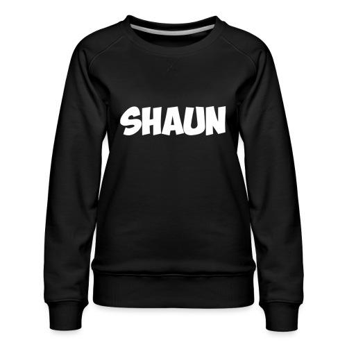 Shaun Logo Shirt - Women's Premium Sweatshirt
