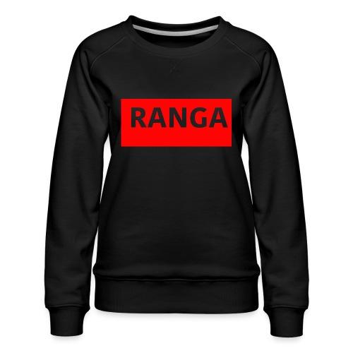 Ranga Red BAr - Women's Premium Sweatshirt