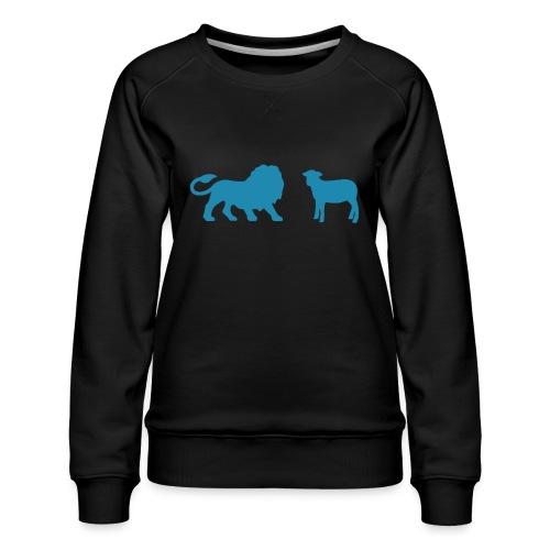 Lion and the Lamb - Women's Premium Sweatshirt