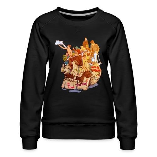 Skull & Refugees - Women's Premium Sweatshirt