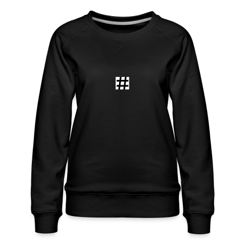Hashtag Merch - Women's Premium Sweatshirt