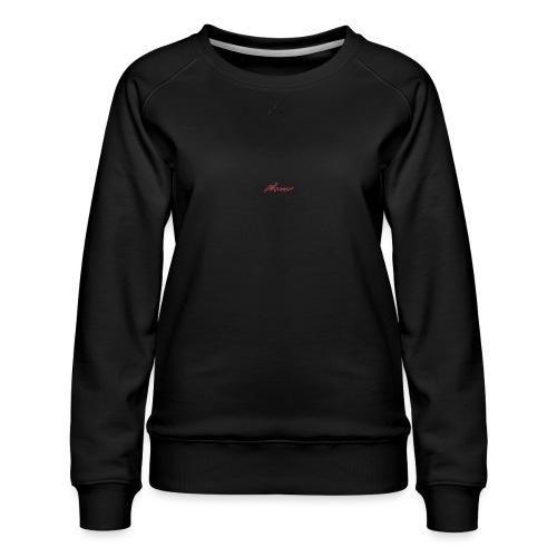 Brush style - Women's Premium Sweatshirt