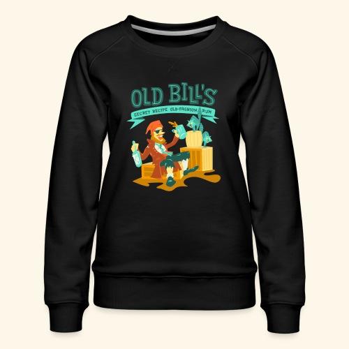Old Bill's - Women's Premium Slim Fit Sweatshirt
