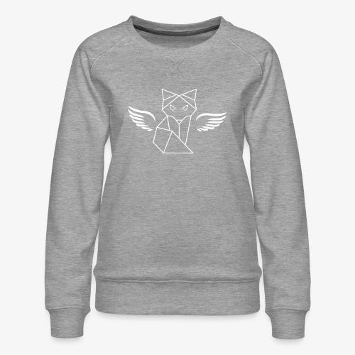 Winged Wolf - Women's Premium Sweatshirt
