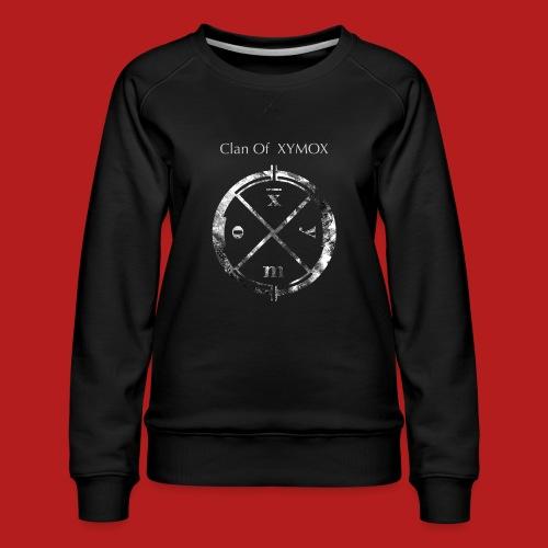 Logo shirt COX for PRINT - Women's Premium Sweatshirt
