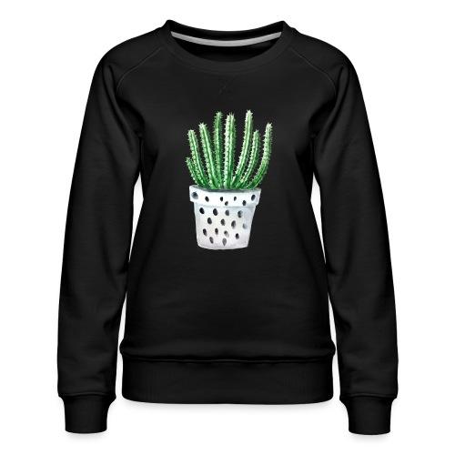 Cactus - Women's Premium Sweatshirt