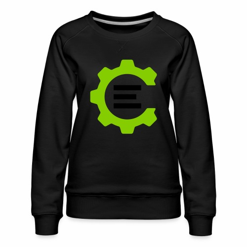 Giant Logo - Women's Premium Sweatshirt