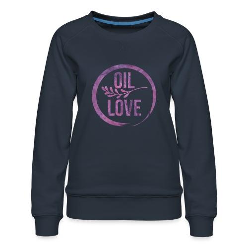 Oil Love Purple - Women's Premium Sweatshirt