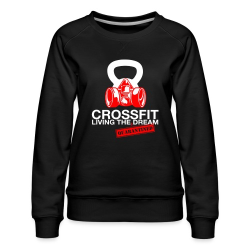CROSSFIT LTQD - WHITE - Women's Premium Sweatshirt