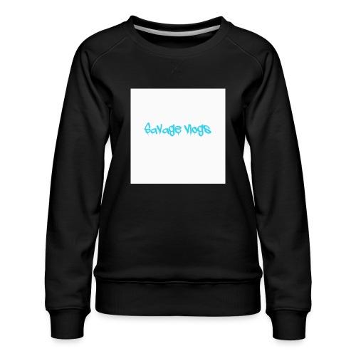 BBE7B1B4 6044 42AF A152 48208328D2C8 - Women's Premium Slim Fit Sweatshirt