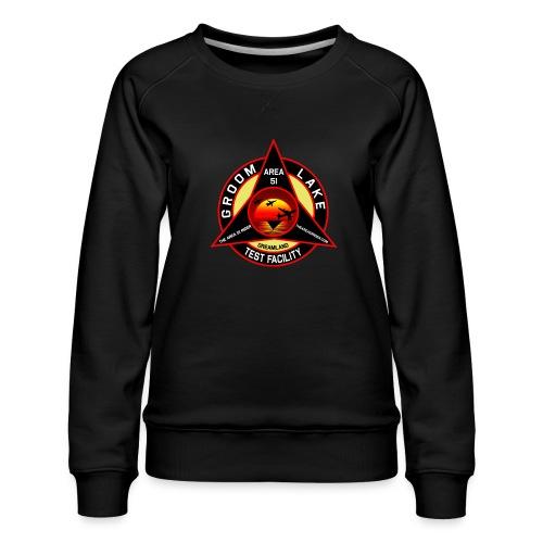 THE AREA 51 RIDER CUSTOM DESIGN - Women's Premium Sweatshirt