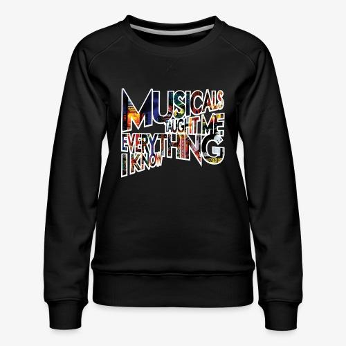 MTMEIK Broadway - Women's Premium Sweatshirt