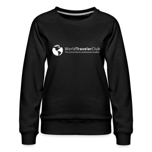 wtc logo - Women's Premium Sweatshirt