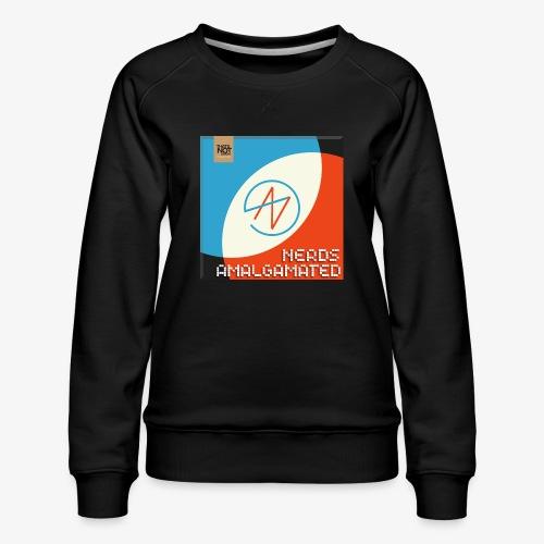 Top Shelf Nerds Cover - Women's Premium Sweatshirt