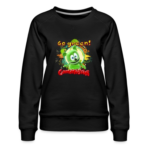 Gummibär Go Green Earth Day Trees - Women's Premium Sweatshirt