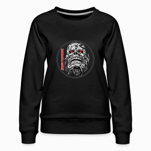 saskhoodz skull - Women's Premium Sweatshirt