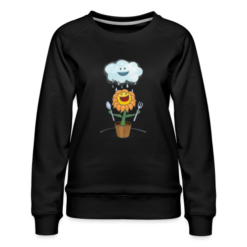 Cloud & Flower - Best friends forever - Women's Premium Sweatshirt