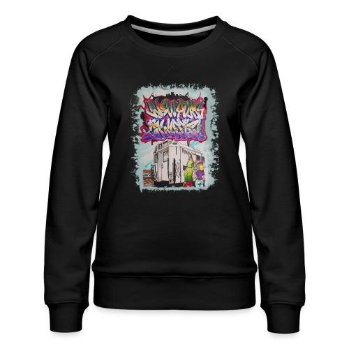 STEM - Design for NYG - Women's Premium Sweatshirt