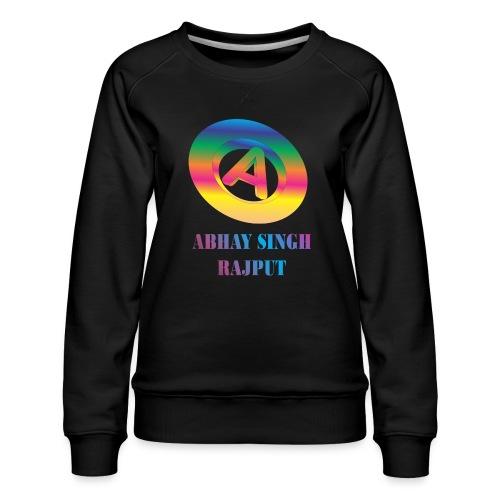 abhay - Women's Premium Sweatshirt