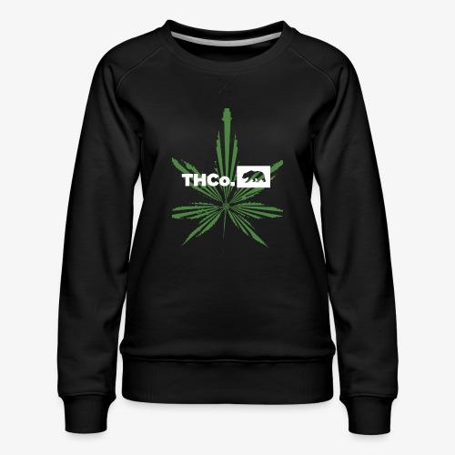 leaf logo shirt - Women's Premium Sweatshirt