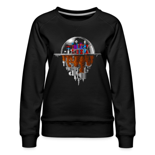 Sky city - Women's Premium Sweatshirt