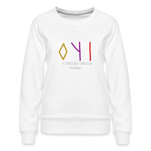 Kyoshin-Tekina Studios logo (white text) - Women's Premium Sweatshirt