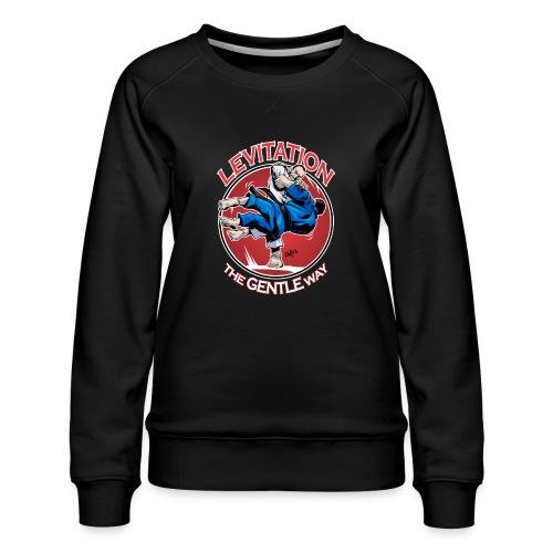 Judo Levitation for dark shirt - Women's Premium Sweatshirt